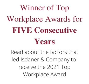 Top Workplace 5 Consecutive years