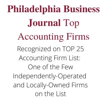 Philadelphia Top 25 Accounting Firms